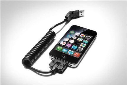 Adaptador USB para móviles con conector Apple Dock