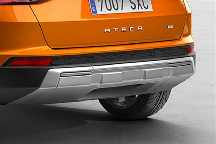 Decorativo parachoques posterior (escape no visto) SEAT Ateca.