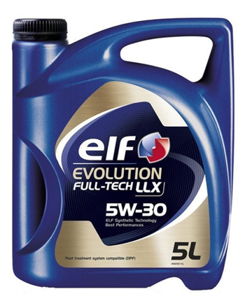 ELF EVOLUTION FULL-TECH LLX 5W30 5L recambiosoriginal.com